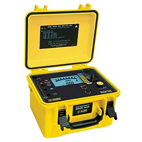 AEMC 6505 Megohmmeter, 10 Teraohms Resistance, 500V, 1000V, 2500V, 5000V Test Voltage