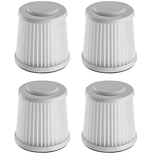 Fette Filter - Vacuum Filter Compatible with Black and Decker Flex Vac FHV1200. Compare to Part # FVF100 - Pack of 4