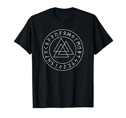 Germanic Viking Rune Symbol Valknut Viking T-Shirt