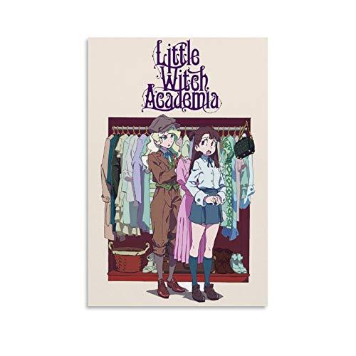 "BVNGF - Poster ""Little Witch Academia Anime"", motivo: Akko e Daiana, 20 x 30 cm"