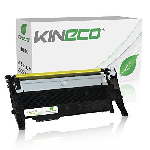 Kineco Toner kompatibel zu Samsung CLP-360 für Samsung Xpress C460W/TEG, Xpress C410W, CLP-365/SEE CLP-365, CLX-3305/XEG CLX-3305, CLX-3305FN/TEG CLX-3305FN - CLT-Y406S/ELS - Yellow 1.000 Seiten