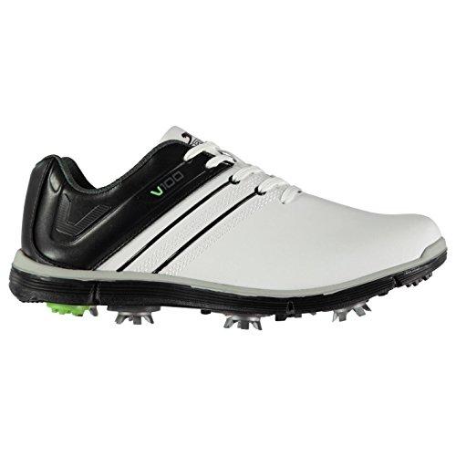 Slazenger Herren V100 Golfschuhe Dynamic Cleats Weiß 45