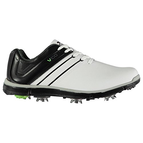 Slazenger Herren V100 Golfschuhe Dynamic Cleats Weiß 43