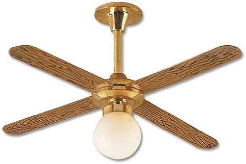 Dollhouse Miniature Globe Ceiling Fan by Houseworks, Ltd.