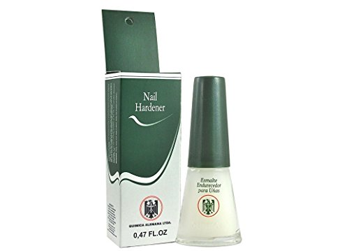 QUIMICA ALEMANA Nail Hardener (protective barrier prevents chipping, peeling and splitting) - Size 0.47 Fl.oz