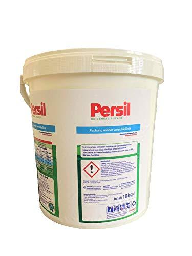 Persil Universal & Color Mix Waschpulver B-WARE Ausschuss, 10kg Eimer Waschmittel für 153 Wäschen, Vollwaschmittel Pulver