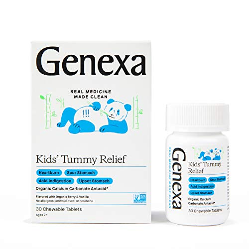 Genexa Kids' Tummy Relief - 30 Tabl…