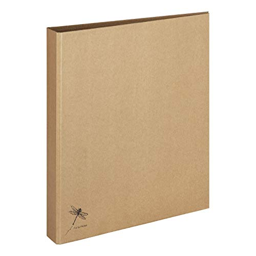 Pagna Ringbuch A4 Pur, praktische 2-Ring-Mechanik, stabiler Graukarton mit Kraftpapier überzogen