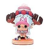 Figura De Una Pieza Figura De Anime Dulce Lindo Tony Tony Chopper Figura De PVC Juguete De Colección Modelo 11Cm Juguetes