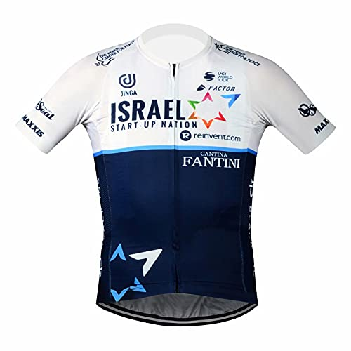 T.R.S Bicycle Clothing for Men Cycling Jersey Short Sleeve X-Large