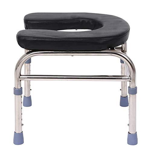 Wc-sitzstuhl-startseite Einfache Dicker Edelstahl Mobil Dusche Stuhl, Bearing 100kg