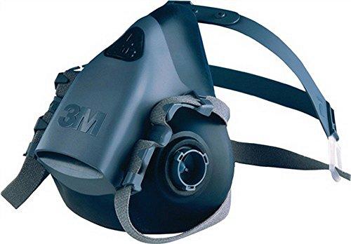 Respiro mezza maschera protettiva 7502Taglia M o. Filtro 3m