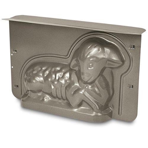 Städter Backform, Metall, Silber, 30 x 19 x 10 cm