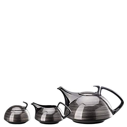 Rosenthal TAC Gropius Stripes - Servizio da tè, 3 pezzi 11280-105957-28402