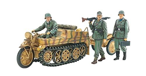 タミヤ 1/35 ミリタリーミニチュアシリーズ No.377 ドイツ軍 Sd.Kfz.2 ケッテンクラート中期型 プラモデル ...