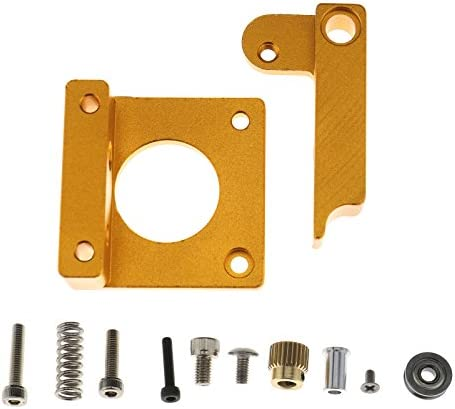MK8 Extruder Aluminum Frame Block Kit Reprap Filament Wire Feeder Right Hand DIY Kit Fit Compatible product image