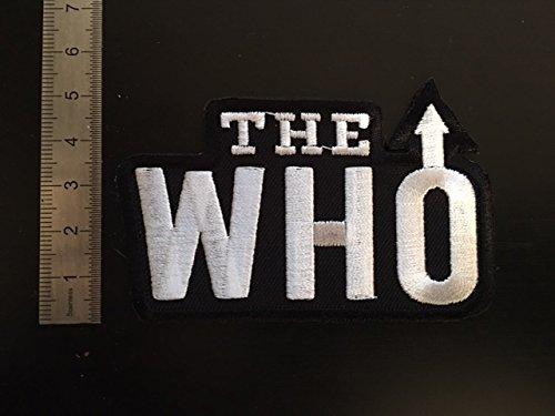 Aufnäher TOPPA – The WHO – zum Aufbügeln