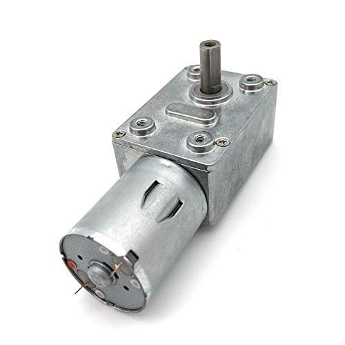 Motores reductores de velocidad DC 6V12V24V Motor reductor de engranajes 2-375RPM GUANTE...
