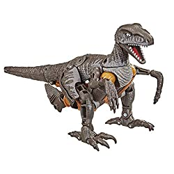 4. Transformers Toys Generations War for Cybertron: Kingdom Voyager WFC-K18 Dinobot Action Figure