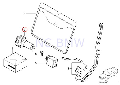 BMW Genuine Lumbar Support Pump