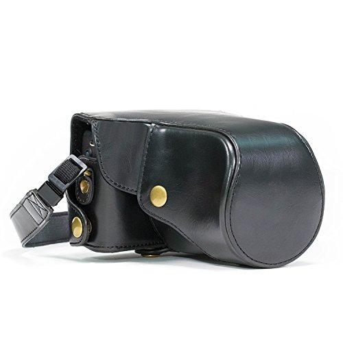 MegaGear MG162 - Funda para cámara réflex Canon EOS M y Canon EOS M2, Negro