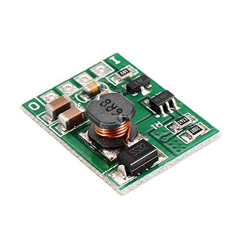 Módulo electrónico DC 12V Step Up convertidor del alza del voltaje Regular la placa del módulo de fuente de alimentación con Habilitación ON/OFF 5pcs Equipo electrónico de alta precisión