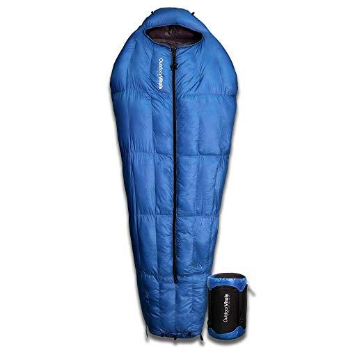 Outdoor Vitals LoftTek Hybrid MummyPod (Blue (15°F), LongWide)