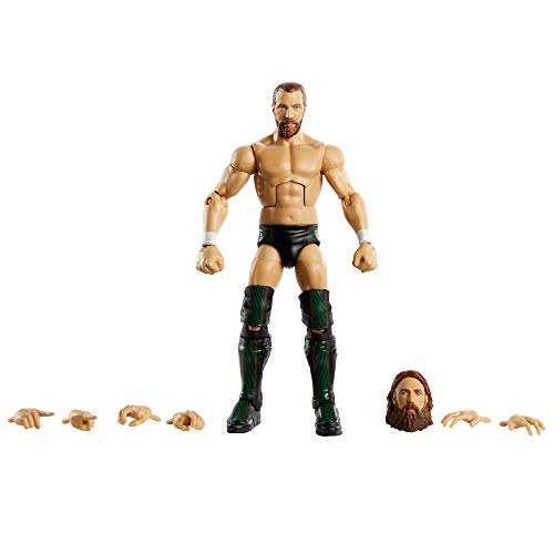 WWE GKY24 - Elite Collection Action Figur (15 cm) Daniel Bryan, Actionfigur ab 8 Jahren