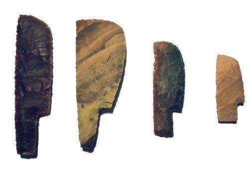 Steinmesserset Steinzeit experimentelle Archäologie (Nachbau)