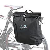 Lumintrail Bike Pannier Bag and Backpack Waterproof Rear Bicycle Bag, Fits E-Bike (25 L)