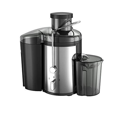 Mryishao Hauptküchen-Saftmaschine 220v Edelstahl Entsafter 2 Speed Elektrische Saft-Extraktor Obst Trinkmaschine für zu Hause