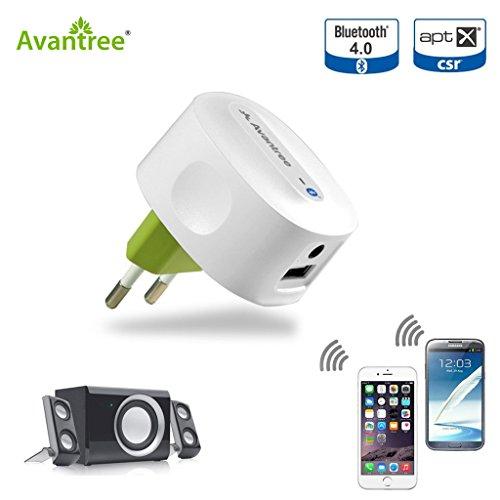 Avantree Roxa Bluetooth 4.0 Musik-Empfänger mit APT-X Codec für Home Stereo