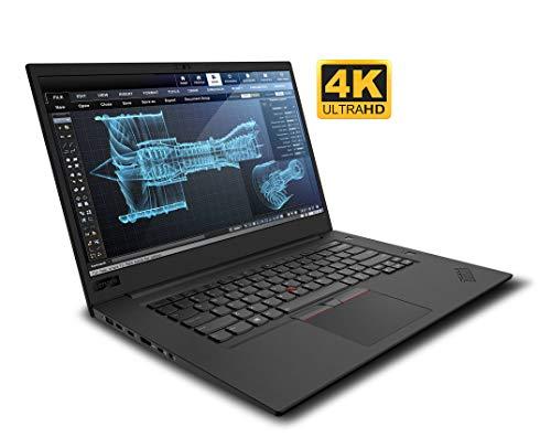 Lenovo ThinkPad P1 Gen 2 20QT0010US 15.6' Mobile Workstation - 3840 x 2160 - Core i7 i7-9750H - 16 GB RAM - 256 GB SSD - Midnight Black - Windows 10 Pro 64-bit - NVIDIA Quadro T1000 with 4 GB - I