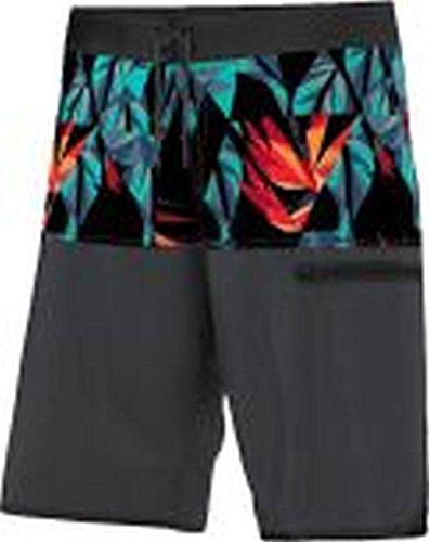 adidas Herren Badeshorts Beach Volleyball, Black/Dark Grey, L