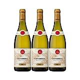 Condrieu Blanc 2019 - Maison Guigal - Vin AOC Blanc de la Vallée du Rhône - Lot de 3x75cl - Cépage Viognier