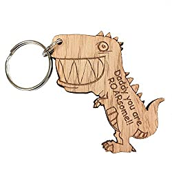 Daddy You are ROARsome!! Keyring