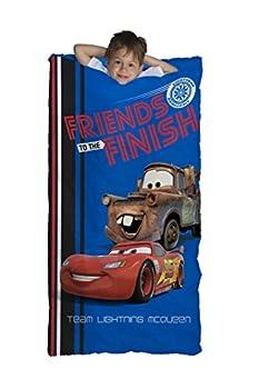 Jay Franco Disney Cars 95 Slumber Bonus Drawstring Bag Blue Friends