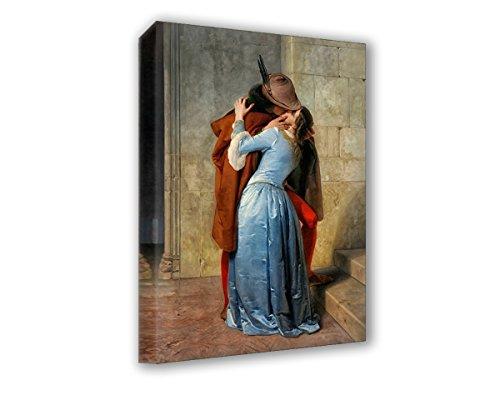Lupia Quadro su Tela Il Meglio dell'Arte 70X100 cm Il Bacio - HAYEZ