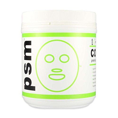 psm COLLAGEN Premium Algae Peel Off Facial Mask Powder for Professional Skin Care 17.6 OZ (1.1LB / 500g)