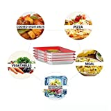 Aelle Cold Cut Boxes Creative Tray Food Plastic Preservation Tray Tray Food Plastic Preservation Tray Kitchen Tools Healthy Seal Storage Container (ROT)