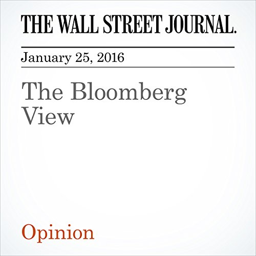 The Bloomberg View cover art