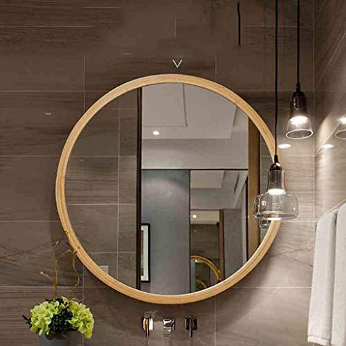 CJH Nordic badkamerspiegel, toiletspiegel, badspiegel, wandspiegel, rond S