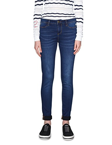 Desigual irati Jeans Slim, Blu (Denim Medium Dark 5161), 29W Donna