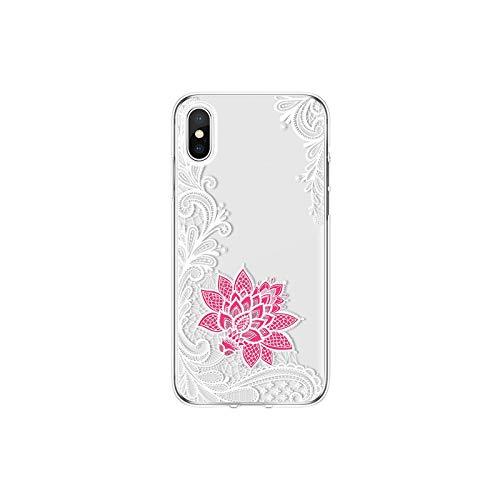 Carcasa para Samsung S20 FE Note 10 Lite 20 A01 A21 A31 A41-Blanco Rosa