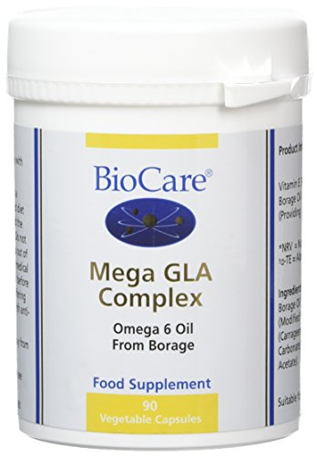 BioCare Mega GLA Complex - Borage Oil - 90 x 700mg Vegicaps