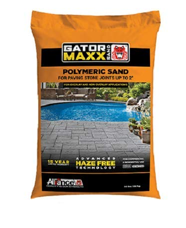 "Alliance Gator Maxx Bond, Polymeric Sand.for Concrete Paver Joints up to 2"", 50 lb. Bag, (Beige)"