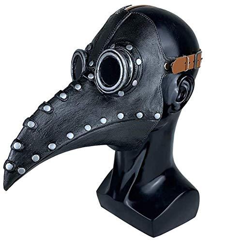 Moter Máscara Pico, Máscara Medieval Peste, la máscara de médico Jefe, Steampunk...