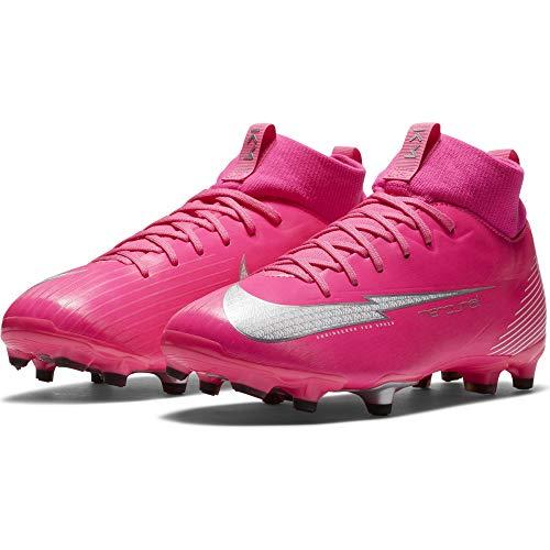 Nike JR Superfly 7 Academy KM FG/MG - Scarpe da calcio rosa - ragazzo (Numeric_36_Point_5)