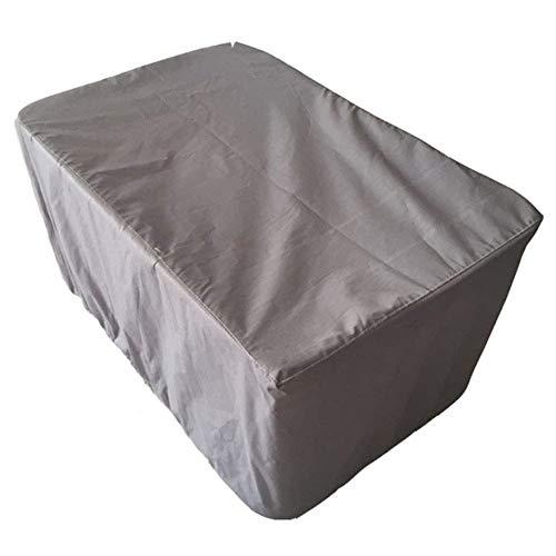 ZYF Impermeable Muebles de Jardín Funda Protectora Muebles Jardín Cubierta Exterior Cubrir Patio Rota Mesa Comida Conjunto Cubo Impermeable Protectora para Muebles de jardín