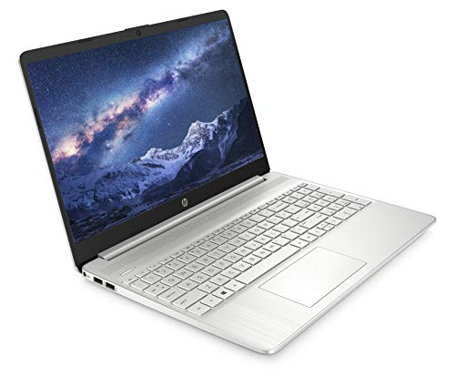 HP 15s-fq1012na 15.6 Inch Full HD Laptop, Intel Core i5-1035G1, 8 GB RAM, 256 GB SSD, Windows 10 Home, Silver